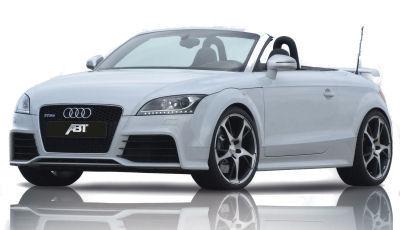 Présentation de l'ABT Audi TT-RS de 2010..