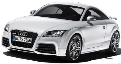 Présentation de l'Audi TT-RS Coupé de 2009..